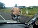 Das arme Minibike, oder dick ist schick!