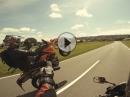 'Das Wort zum Sonntag' mit KTM und Honda