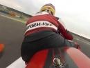 Triumph Daytona 675 am Lausitzring 2012