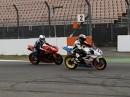 Daytona 675 Slow Motion Overtake Hockenheim