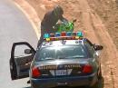 """Der """"perfekte"""" Motorradunfall: Direkt vor der Polizei hingepackt!"""