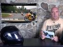 Demo Streckensperrung, Schuberth 01, Ralf Waldmann Kurve, Nicky Hayden Denkmal by Motorrad Nachrichten