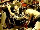 Demontage Kawasaki ZX-6R zerlegt in etwas über 2 Minuten