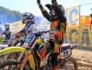 Motocross Nachwuchs. Benzin in Muttermilch :-) Gianluca Facchetti vor dem Start - Hummeln im Arsch