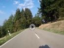 Der Schauinsland im Schwarzwald mit BMW R1200 GS