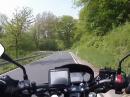Der Wind der Freiheit ... Motorradtour durch die Natur