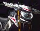Details der Yamaha MT-09 Street Rally