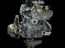 Details Desmosedici Stradale der Motor der Ducati Panigale V4