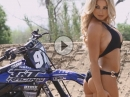Dianna Dahlgren Motocross Pin-Up - Mörder Frau