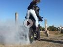 Ducati Diavel Burnout mit schönen Heck