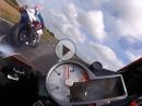 Didier Grams onboard S1000RR Lap Frohburg 2015, Joey Dunlop Open