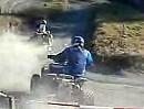 Die ATV Gang - bisschen spielen mit dem Quad und Crosser