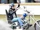 Die Legende: Peter Fonda beim Goodwood Festival of Speed 2009