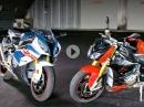 Die Neuen: BMW S1000RR und BMW S1000R MY17