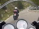 Die Sonndaachfahrer: Sellajoch (Passo Sella) mit der Fazer 1000 - Juli 2010