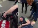 Diebstahl: Radfahrer klaut Schlüssel, an den Falschen geraten, aufs Maul bekommen - So muss das!