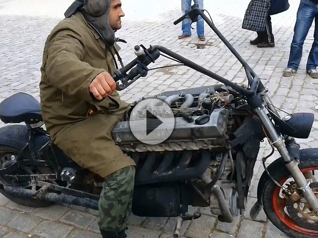diesel boss hoss bikeporn russisch eigenbau und l uft. Black Bedroom Furniture Sets. Home Design Ideas