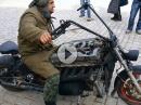Diesel Boss Hoss BikePorn Russisch - Eigenbau und läuft