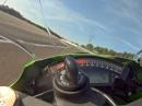 Dijon Onboard Kawasaki ZX10R