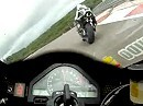 Dijon onboard mit Honda CBR1000RR