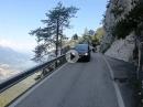 Dolomiten Fahrt von Caldonzzo zur Kaiserjägerstrasse