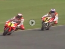 Donington 500ccm GP 1991 - HAMMER Zweikampf Schwantz vs Rainey