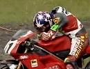 Superbike WM 1995 - Donington (England) Race 2 Zusammenfassung