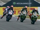 Donington (England) SBK-WM 2018 Race1 Highlights
