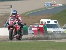 Donington Park British Superbike (BSB) 09/2013 Rennen2 Highlights