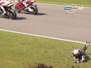 Donington Park British Superbike R1/15 (MCE BSB) Race1 Highlights