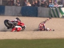 Donington Park British Superbike R1/15 (MCE BSB) Race2 Highlights