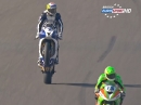 Donington Park British Supersport (BSS) 01/15 Feature Race Highlights