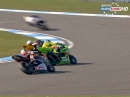 Donington Park British Supersport (BSS) 01/15 Sprint Race Highlights