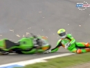 Donington Park British Supersport (BSS) 09/2013 Highlights Featur Race