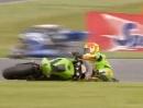 Donington Park British Supersport (BSS) 2012 - Highlights
