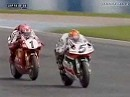 SBK 1999 Donington Race 2 - Edwards holt ersten Saisonsieg auf Honda RC45 - Recap
