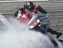 Donut / Burnout Ducati Panigale 1199 bei der WDW2012 - das hat Stil