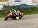 Double Elbow Down Pitbike Extrem