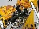 Doug Keim Tattoo Bike - sehr schöner Umbau