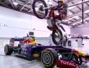 Doug Lampkin spielt ein bisschen beim RedBull Racing F1-Team - Great