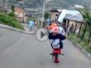 Downhill Wheelie Braapp Braapp - Der Junge hats drauf!