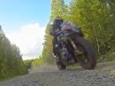 """""""Dreckschleuder"""" Suzuki GSX-R 1000 volle Suppe im Wald und Flur"""