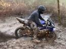 Dreckschleuder - Yamaha R6 im Dreck - Eat the dirt
