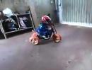 Dreirad Drift: Dranbleiben Kleener, dann wirds (vielleicht) was Großes