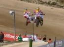 """""""Dreisatz"""" Sidecar Motocross Flugshow - wer setzt sich freiwillig ins Boot?"""