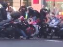 Dreiste Schweine: Motorrad-Klau - alle gaffen aber Zivilcourage?!