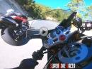 Dreizylinder andrücken: Triumph Daytona 675 2011, GoPro Hero 7, Gimbal Motorcycle Ride - SoundPorn