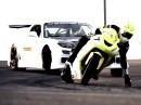 Drift Challenge verkürzte Version Auto vs Motorrad - reduziert aufs Wesentliche - Porno