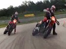 Drift Weltrekord Supermoto - Longest Drift Ever!