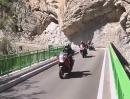 Drôme und den Rhône-Alpen aktiv mit dem Motorrad unterwegs
